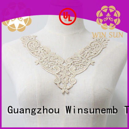 Winsunemb collar lace neckline in china for Lingerie