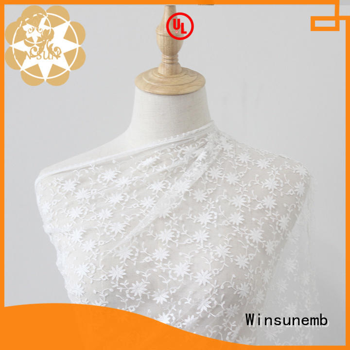 durable lace fabric wholesale bright producer for underwear