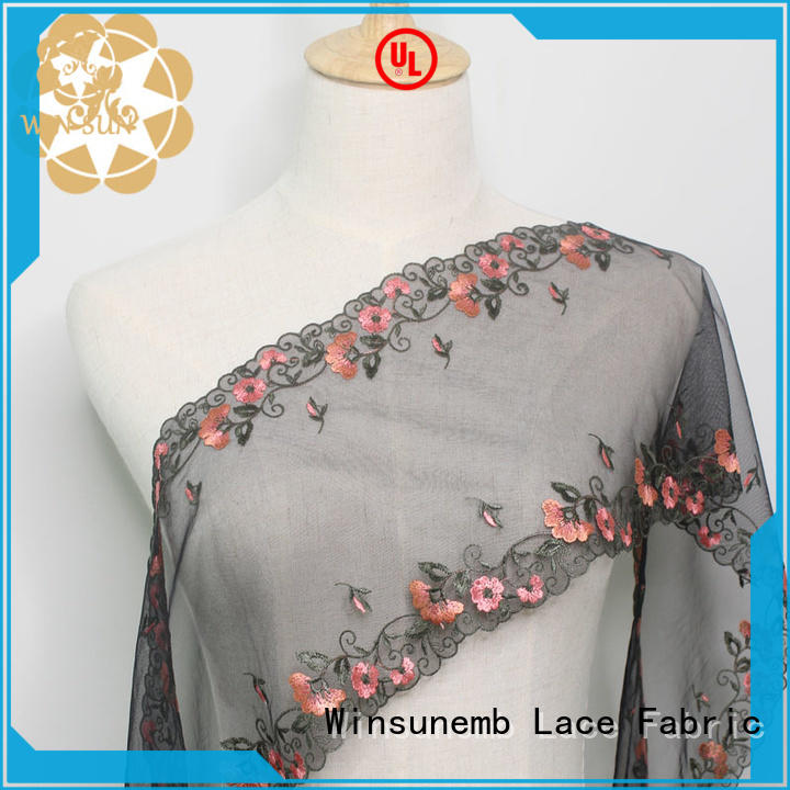 Winsunemb different color luxury lace for underwear