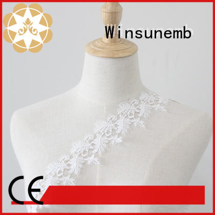 Winsunemb exquisite lace ribbon order now for bedclothes
