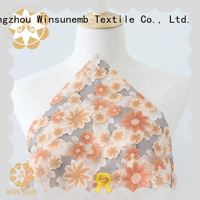 Winsunemb outstanding Printed fabric dropshipping for curtain cloth