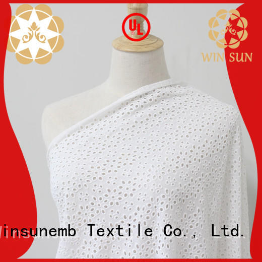 Winsunemb luxury lace order now for apparel