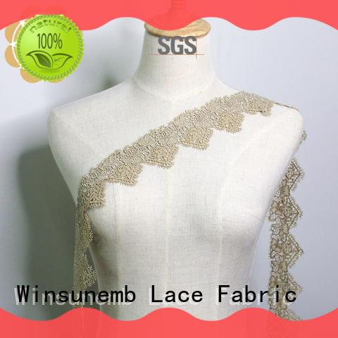 by lace fabric wholesale colour for lingerie Winsunemb