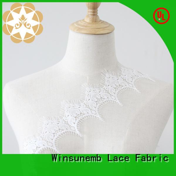 Winsunemb underwear elastic laces bulk production for lingerie