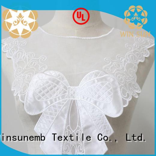Winsunemb venice lace motif wholesale for DIY