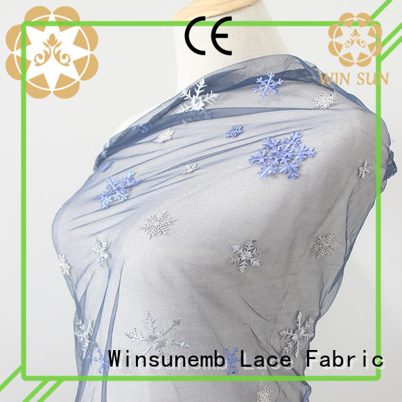 professional lace fabric online garment in china for apparel