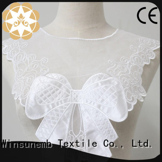 fashion design embroidery lace motif design dropshipping for DIY
