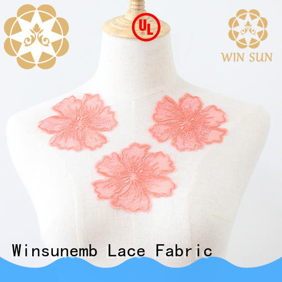 attractive lace neckline embroidered directly sale for Lingerie