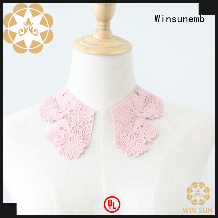 good looking lace motif on dropshipping for clothing collars