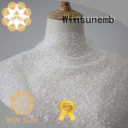 Winsunemb 18cm lace fabric online in china for underwear