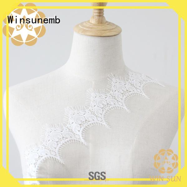 Winsunemb popular lace ribbon for manufacturer for lingerie