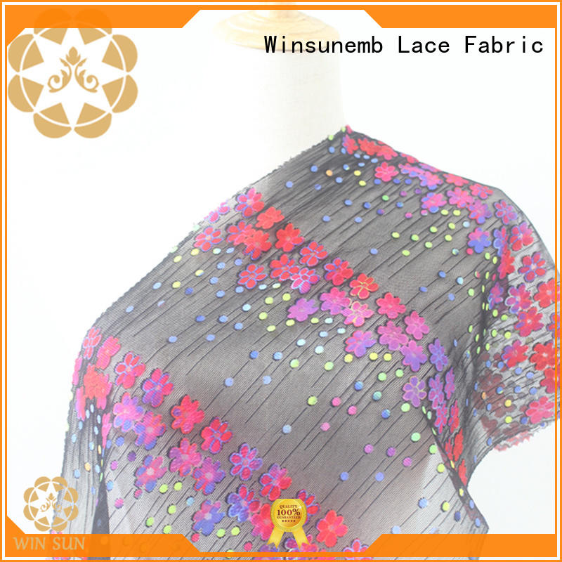 Winsunemb skirts Printed fabric directly sale for printed fabric