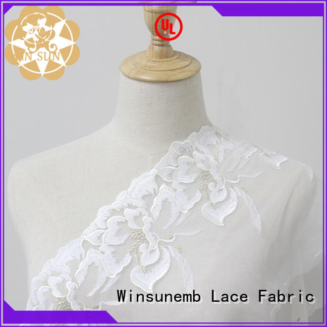 high quality lace ribbon mermaid bulk production for lingerie